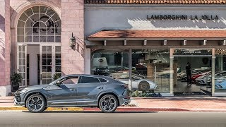 Lamborghini Urus: The First Super SUV Delivery In California