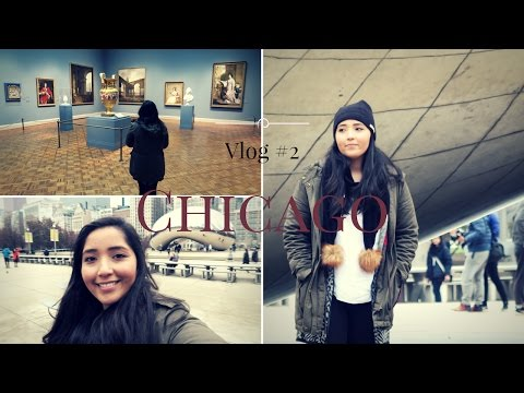 "Chicago Vlog Day 2 | ""The Bean"" & The Art Institute of Chicago"