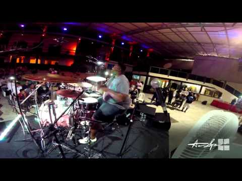 Aaron Spears - Victoria, Brazil Clinic - 7 To The Power Of 6 (GoPro Cam)