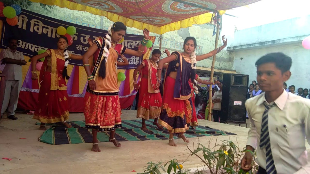 Dilip ray new song dance in khaira school function
