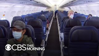 Airlines step up safety measures during coronavirus
