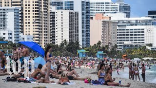 Spring breakers in Florida keep partying despite coronavirus