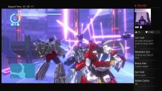 Tyrone Magnus Plays: (GRIMLOCK) Transformers Devastation Live PS4 Broadcast #9!!!