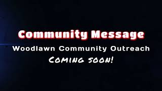Community Message Coming Soon