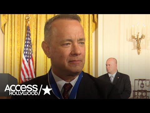 Tom Hanks Reveals Whether He'd Ever Consider Running For President | Access Hollywood