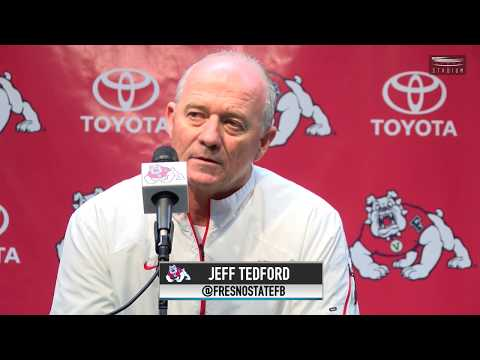 Fresno State Football: Jeff Tedford Press Conference (10.23/17)