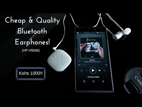 Extreme Budget Bluetooth Earphones!! (HP H5000) - Review