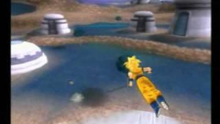 Dragonball Z Budokai Tenkaichi 3 Teen Gohan vs Yamchu Son Goten Kid Trunks Pan Oob
