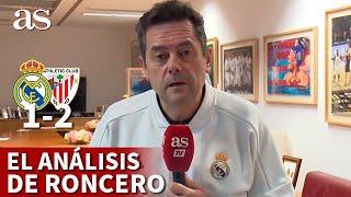 SUPERCOPA: REAL MADRID 1- ATHLETIC 2 | El discurso de RONCERO en el que atiza a HAZARD | AS