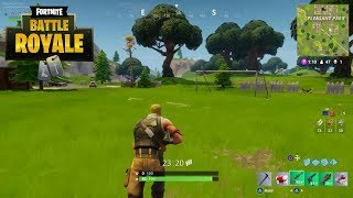 Fortnite Battle Royale (Gameplay No Commentary) - Solo Win #1 (PS4)
