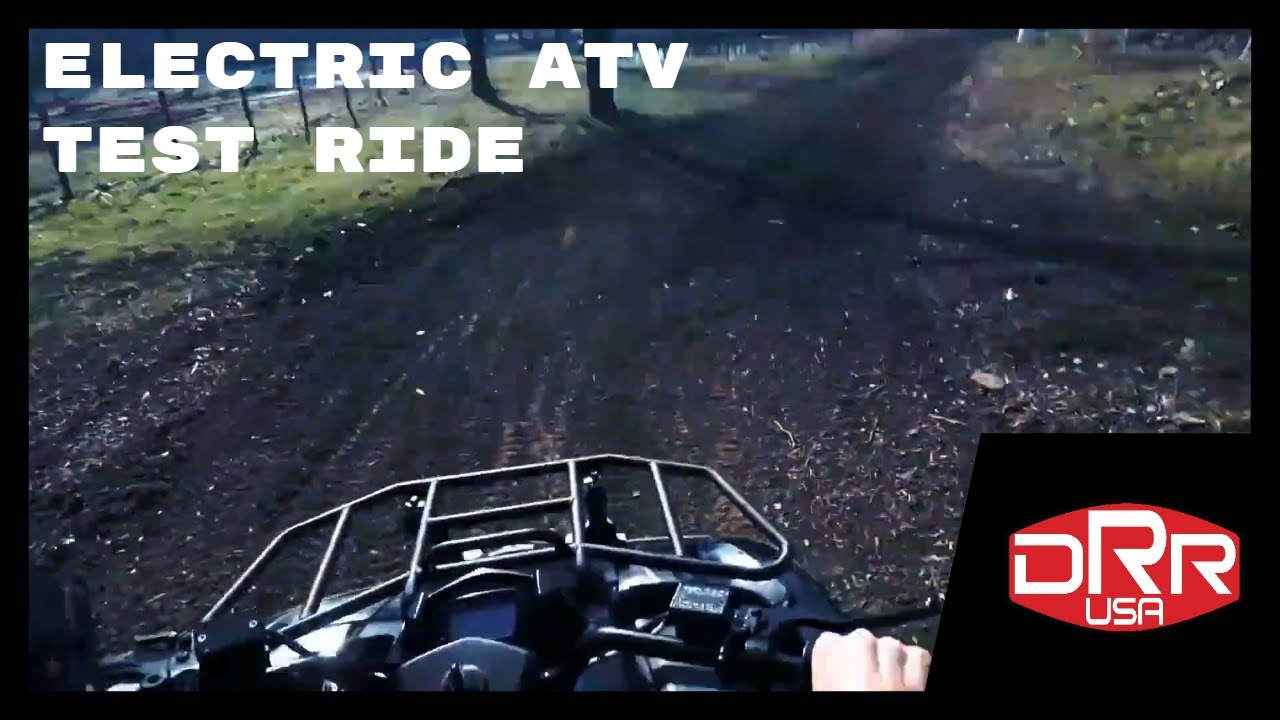 Electric ATV Test Ride DRR Stealth