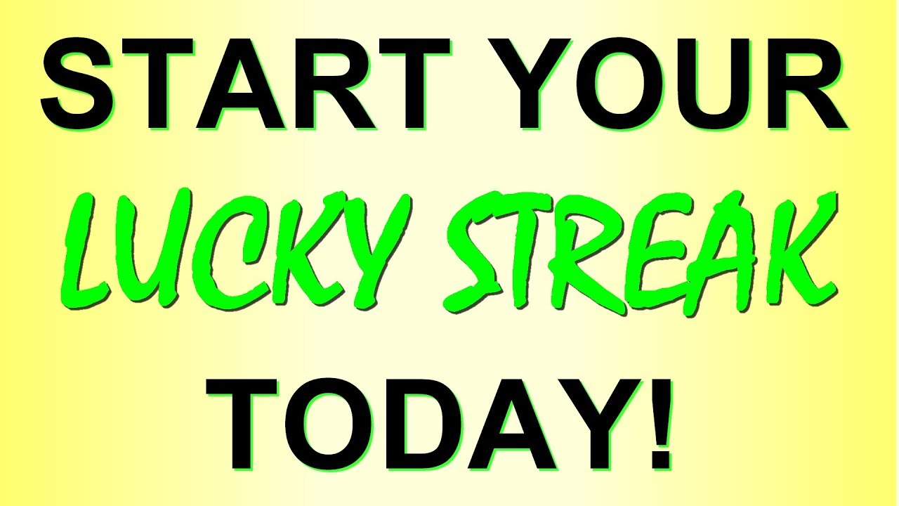 Start Your Lucky Streak Today With A Lucky Charm Talisman Youtube