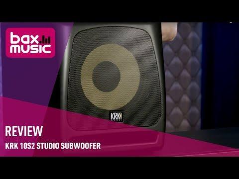 KRK 10s2 Studio Subwoofer - Review