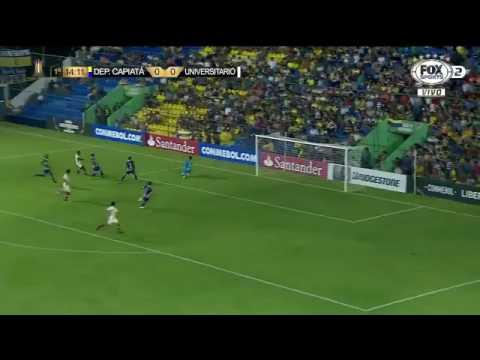 Gols Dep. Capiatá 1 x 3 Universitário - Libertadores 2017 - Fox Sports HD