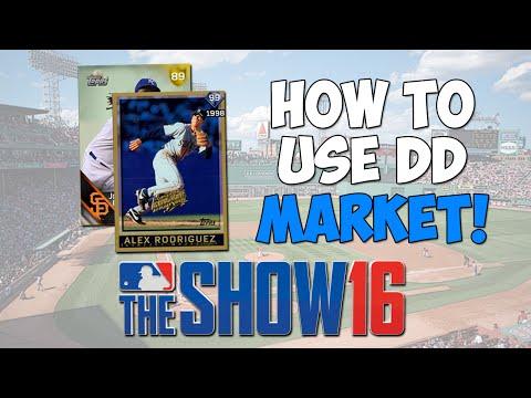 How To Use Diamond Dynasty Marketplace! | MLB The Show 16 - Diamond Dynasty Tips