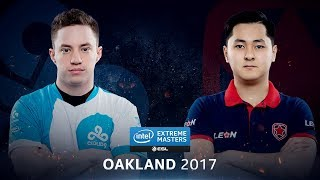 CS:GO - Cloud9 vs. Gambit [Overpass] Map 1 - Quarterfinal - IEM Oakland 2017