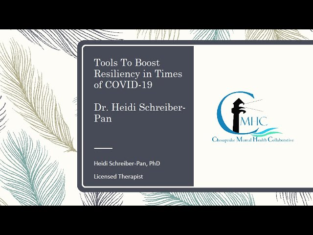 Boost Your Resilience During COVID-19