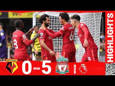 Highlights: Watford 0-5 Liverpool | Mane, Salah \u0026 a Firmino hat-trick for sensational Reds