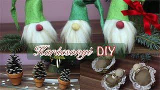 DIY Karácsonyi Dekoráció I Viszkok Fruzsi