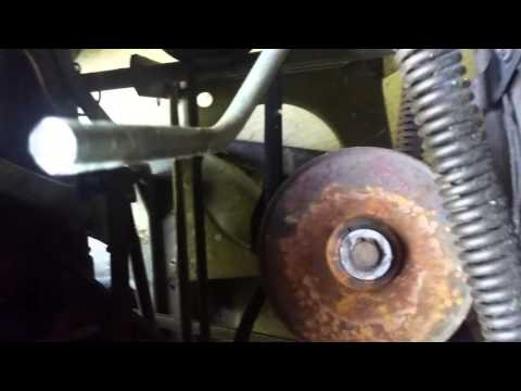How To Replace The Transmission Pulley On A Troy Bilt Pony