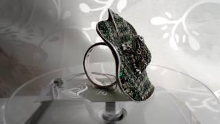 Кольцо с жабой