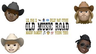 Lil Nas X feat. Billy Ray Cyrus x Young Thug x Mason Ramsey - Old Music Road