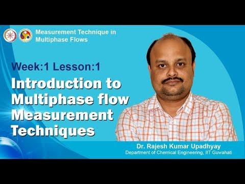Lecture 1 - INTRODUCTION To MULTIPHASE FLOW MEASUREMENT TECHNIQUES