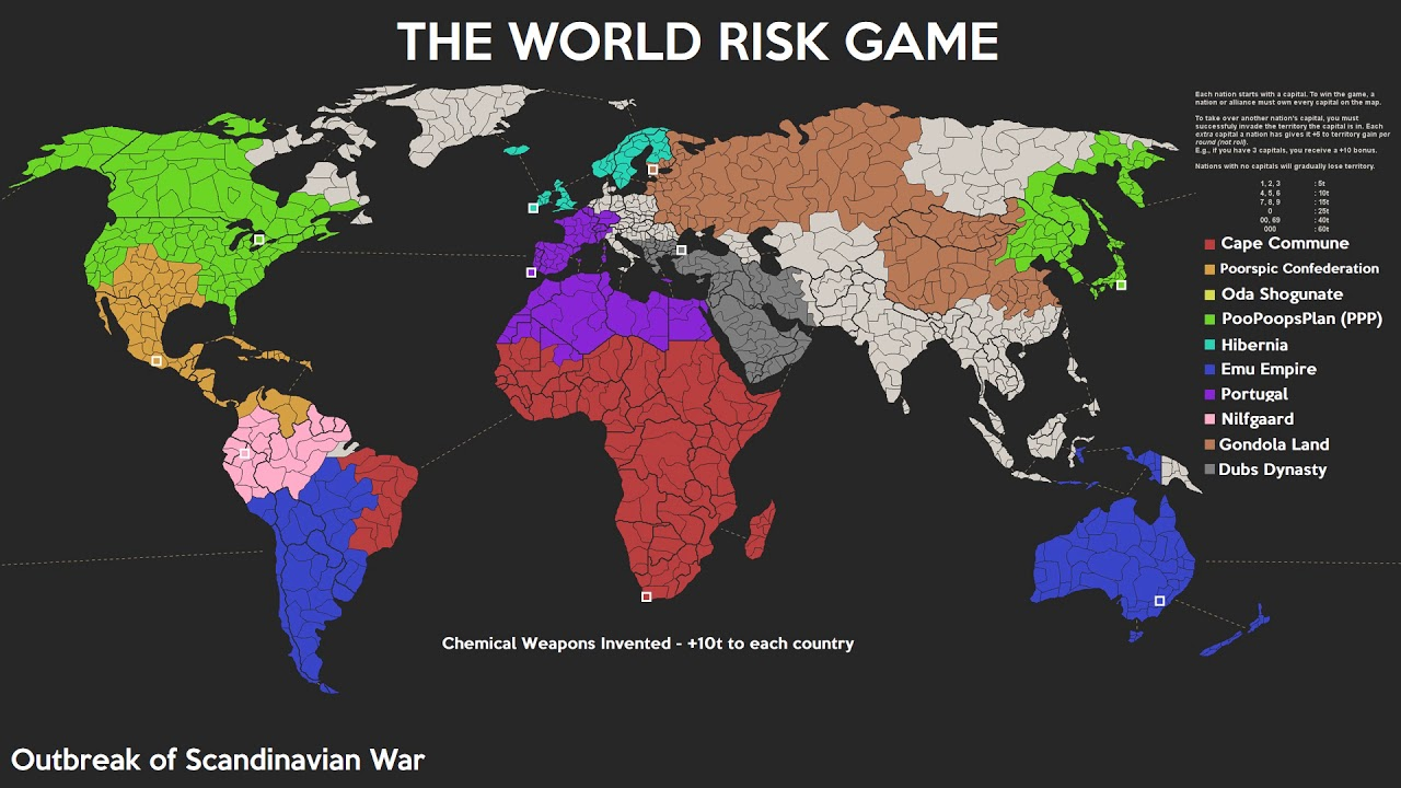 4chan risk game timelapse full world map 10 nations youtube 4chan risk game timelapse full world map 10 nations gumiabroncs