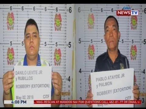 BP: 2 airport police, arestado dahil sa umano'y pangingikil sa mga driver