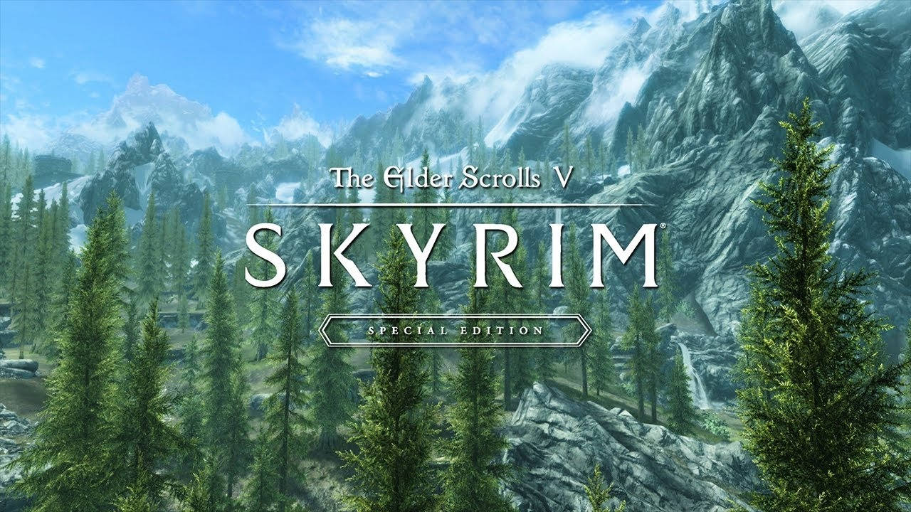 the elder scrolls v skyrim special editionゲームプレイトレーラー