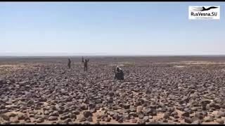 Syria War Video / Ад в чёрной пустыне: ВКС и армия Сирии выжигают боевиков
