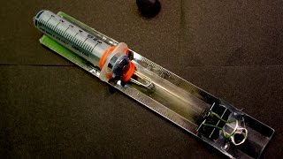 How to Make a Toy Syringe Gun that shoots