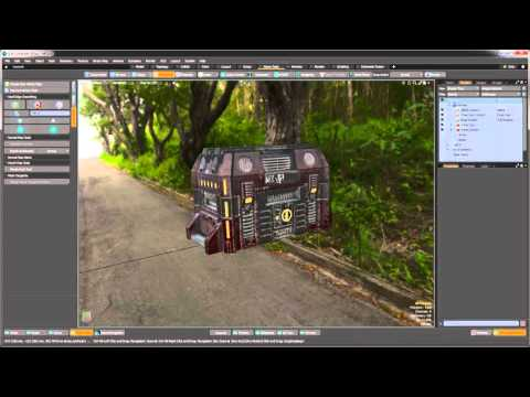 MODO 10 Quick Clip -- Game Tools Layout