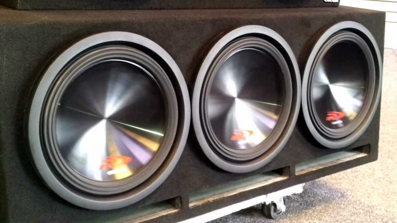 Alpine Type R 12 S W Mrx M240 In Ported Box Youtube