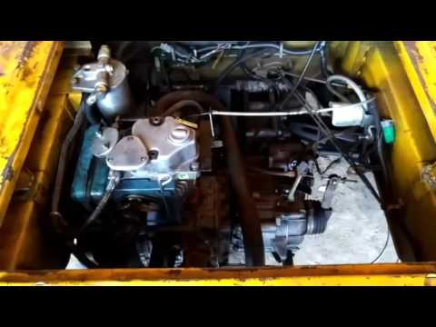 Piaggio auto engine working