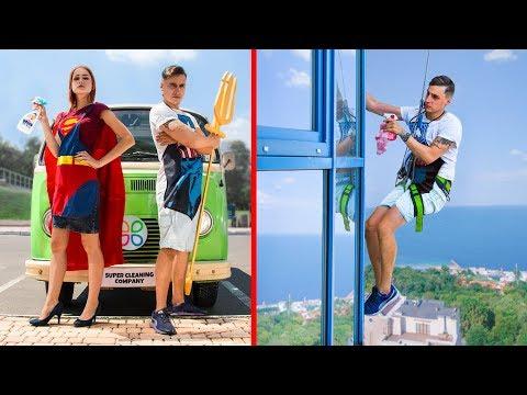 8 Truques De Limpeza De Super-Heróis E DIYs / Super-Heróis Na Vida Real