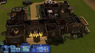 Прохождение гробниц в The Sims 3. Франция. Замок Ландграаба.