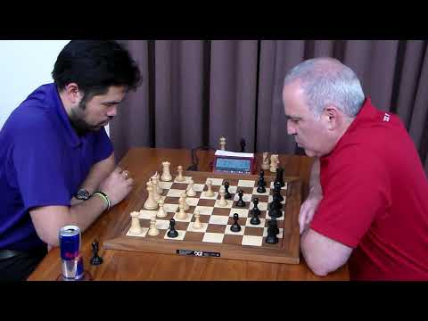 Hikaru Nakamura vs Garry Kasparov - St Louis Blitz 2017