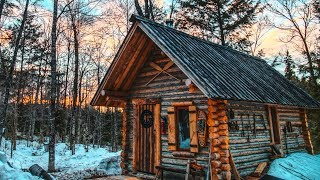 cedar-wood-for-the-log-cabin-sauna-last-day-for-the-snowmobile