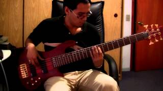 Marc Anthony - Nadie como ella (bass cover)