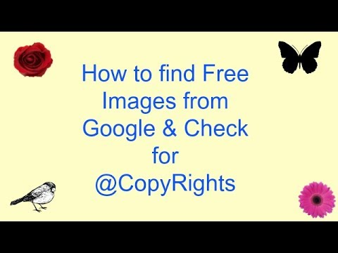 How to Find Free Images From Google without CopyRights problem