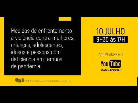Webinar - Medidas de Enfrentamento à Violência em Tempos de Pandemia - Manhã.