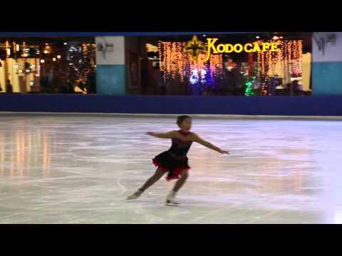 Saki Aoyagi Basic Novice A- Free Skating Vietnam Cup 2015