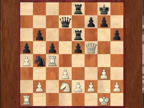 Chess News #33: Morozevich -- Svidler, Moscow 2008 (Game Fragment)