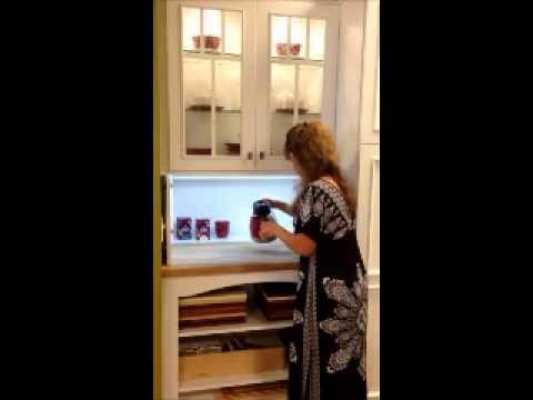 Motorized Cabinets - YouTube