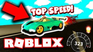 DIES IST WAS HAPPENS WHEN YOU GO 300+ MPH IN ROBLOX VEHICLE SIMULATOR