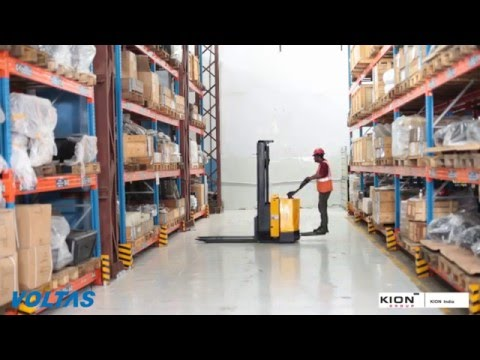 VOLTAS Battery Operated Stacker