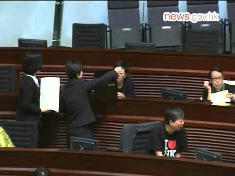 Jasper Tsang elected LegCo president (10.10.2012)