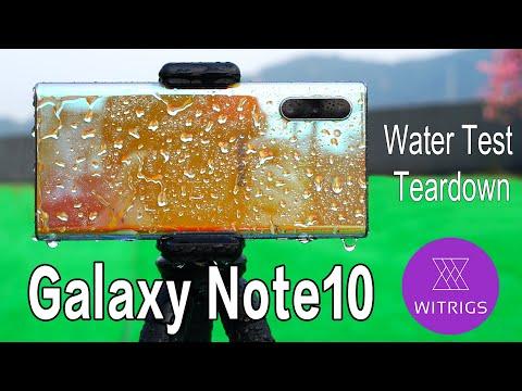 Waterproof Test   Samsung Note 10 Waterproof Rating?