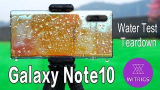 Waterproof Test | Samsung Note 10 waterproof rating?